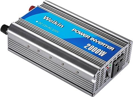 2000w Auto Energia Solare Convertitore 12v To 220v Dc a Corrente Alternata
