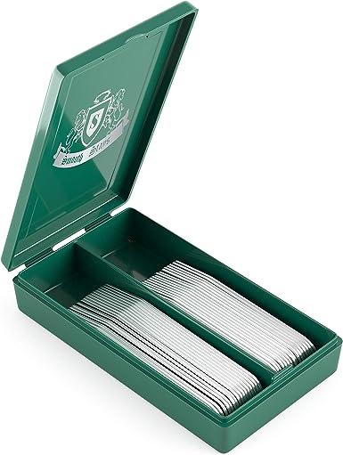 36 ballenas para cuellos de camisa de metal de primera calidad en caja de plástico - Plateado - : Amazon.es: Ropa y accesorios