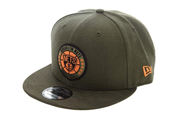 A NEW ERA Gorras Brooklyn Nets Tipoff Series 9Fifty Olive Snapback ...