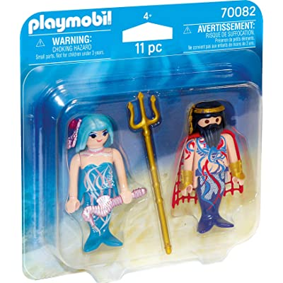 Playmobil King of The sea and Mermaid Duopack 70082 Actionfigures: Toys & Games