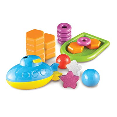 Learning Resources STEM Sink or Float Activity Set, Early Science Concepts, 32 Pieces, Ages 5+: Toys & Games