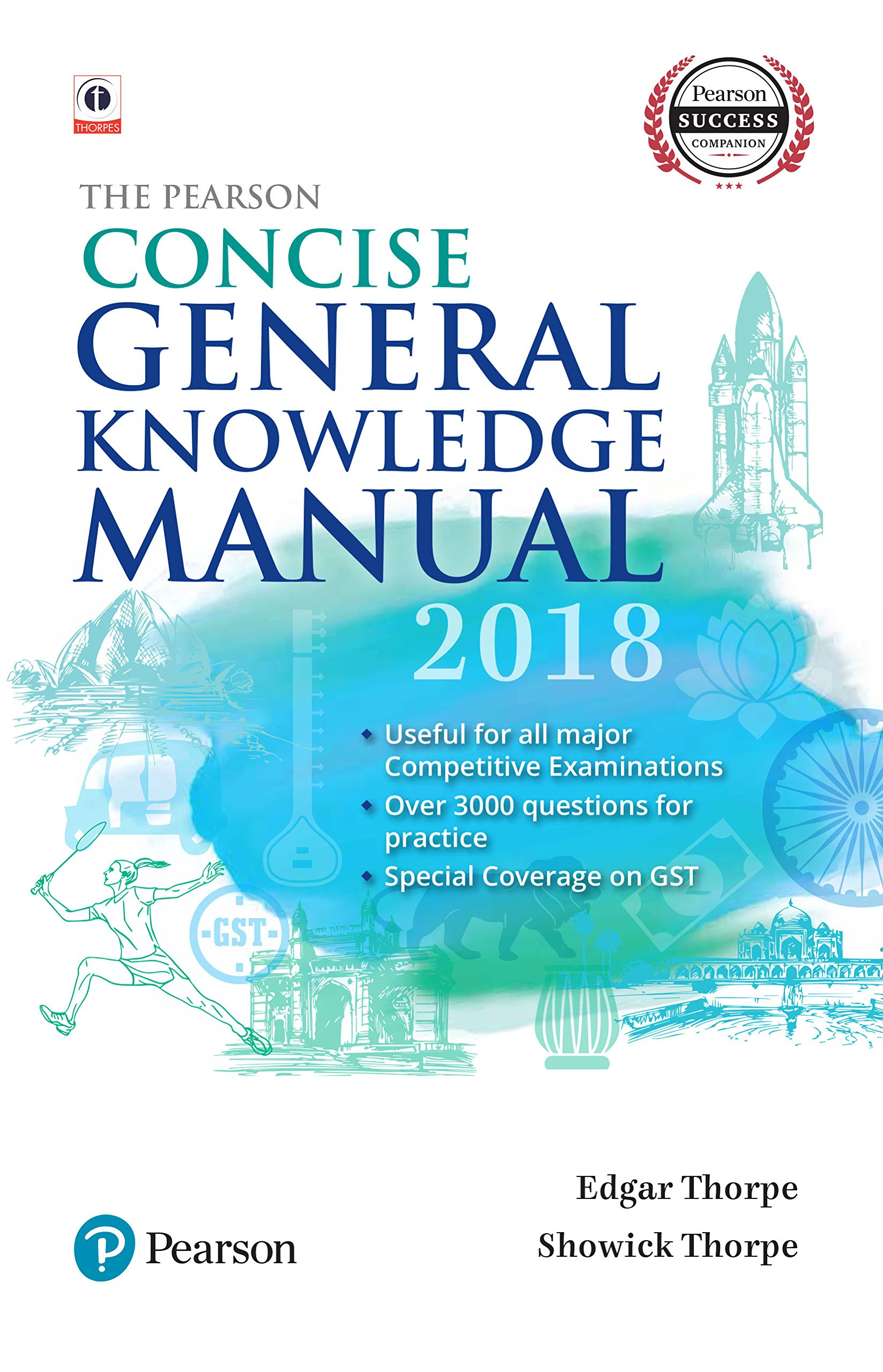 Buy The Pearson Concise General Knowledge Manual 2018 Book Online At