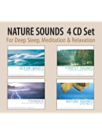 NATURE SOUNDS Set - Ocean Waves, Forest Sounds, Thunder, Nature Sounds with Music for Deep Sleep, Meditation, & Relaxation
