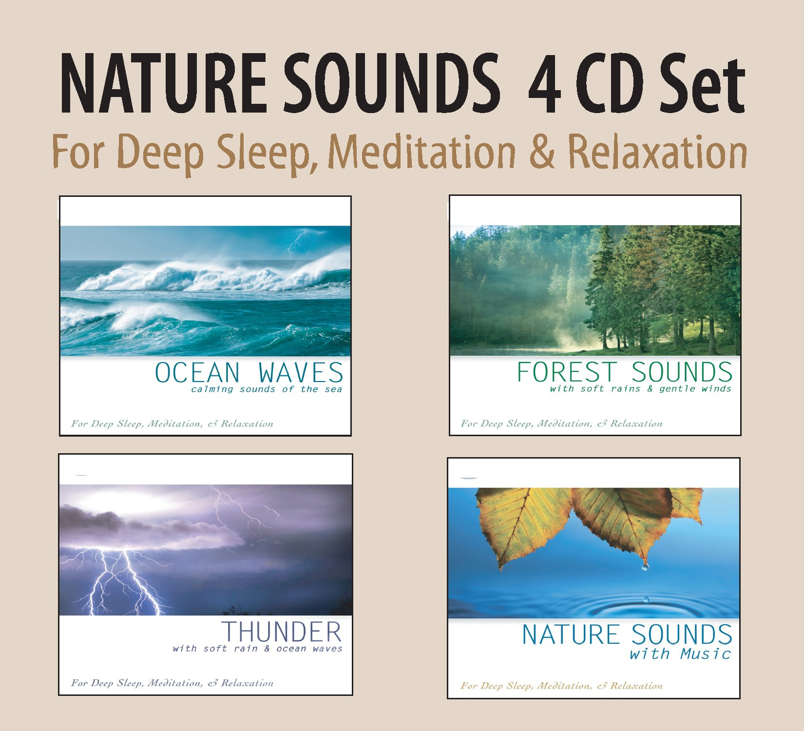 Nature Sounds 4 Album Set: Ocean Waves/Forest So by CD Baby