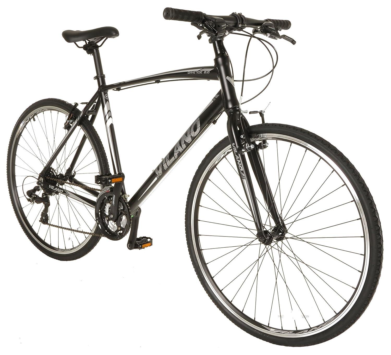 Vilano Diverse 2.0パフォーマンスハイブリッドバイク24 Speed SHIMANOロードバイク700 C B01FYGVB6657cm