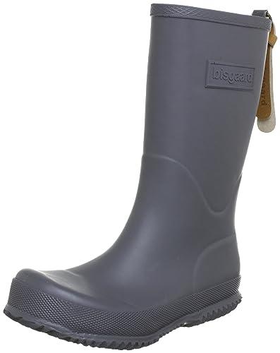 Bisgaard Unisex-Kinder Rubber Boot Basic Gummistiefel, Schwarz (50 black), 34 EU