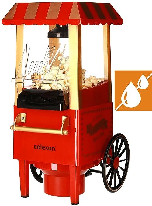 Celexon CinePop CP500 palomitas de maiz poppers Rojo 1200 W - Palomitero (1200 W,