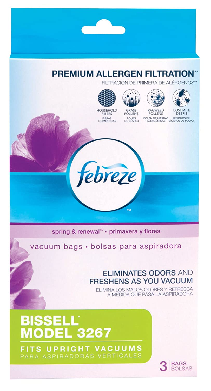 Febreze BISSELL Style 3267 Vacuum Bags, 3 Count