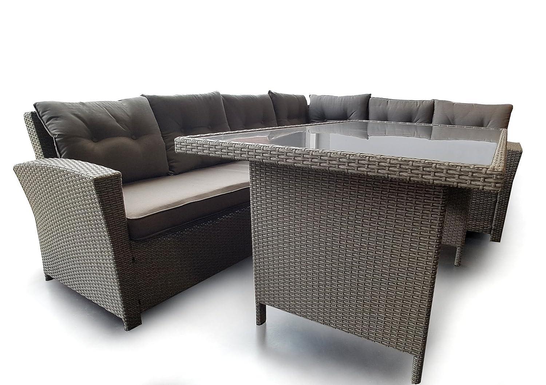 Osoltus Lounge Gruppe Rattanmöbel Gartenmöbel Sitzgruppe Barret