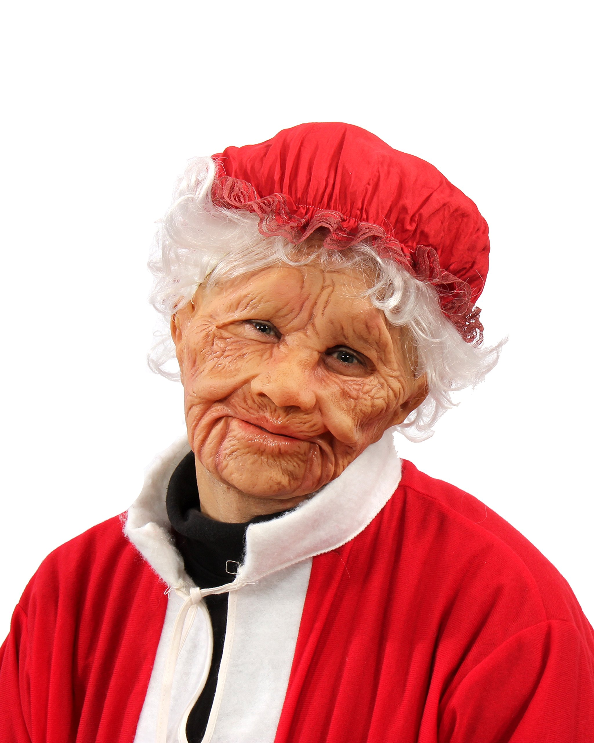 Zagone Studios Mrs. Claus Old Woman Mask