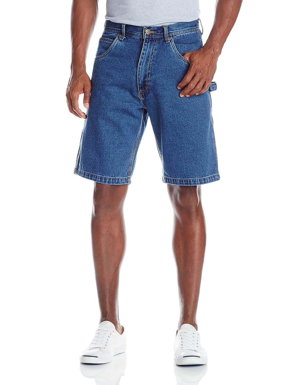 Key Apparel mens Premium Denim Enzyme Washed Denim Shorts 155.45