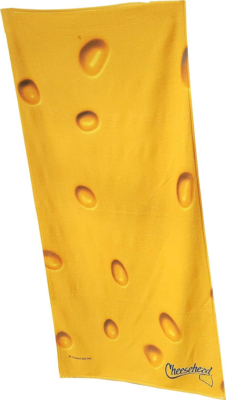 Cheesehead Beach Towel