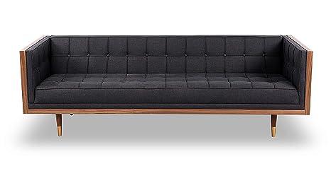 Amazon.com: kardiel Woodrow caja moderno de mediados sofá ...