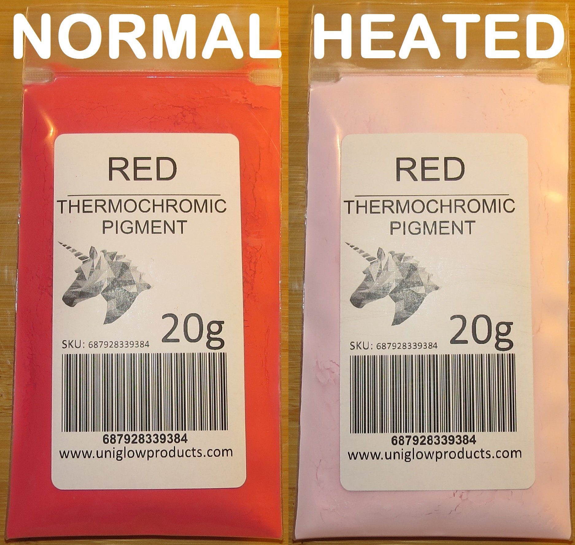 VIOLET 2g of Thermochromic Temperature Activated Pigment