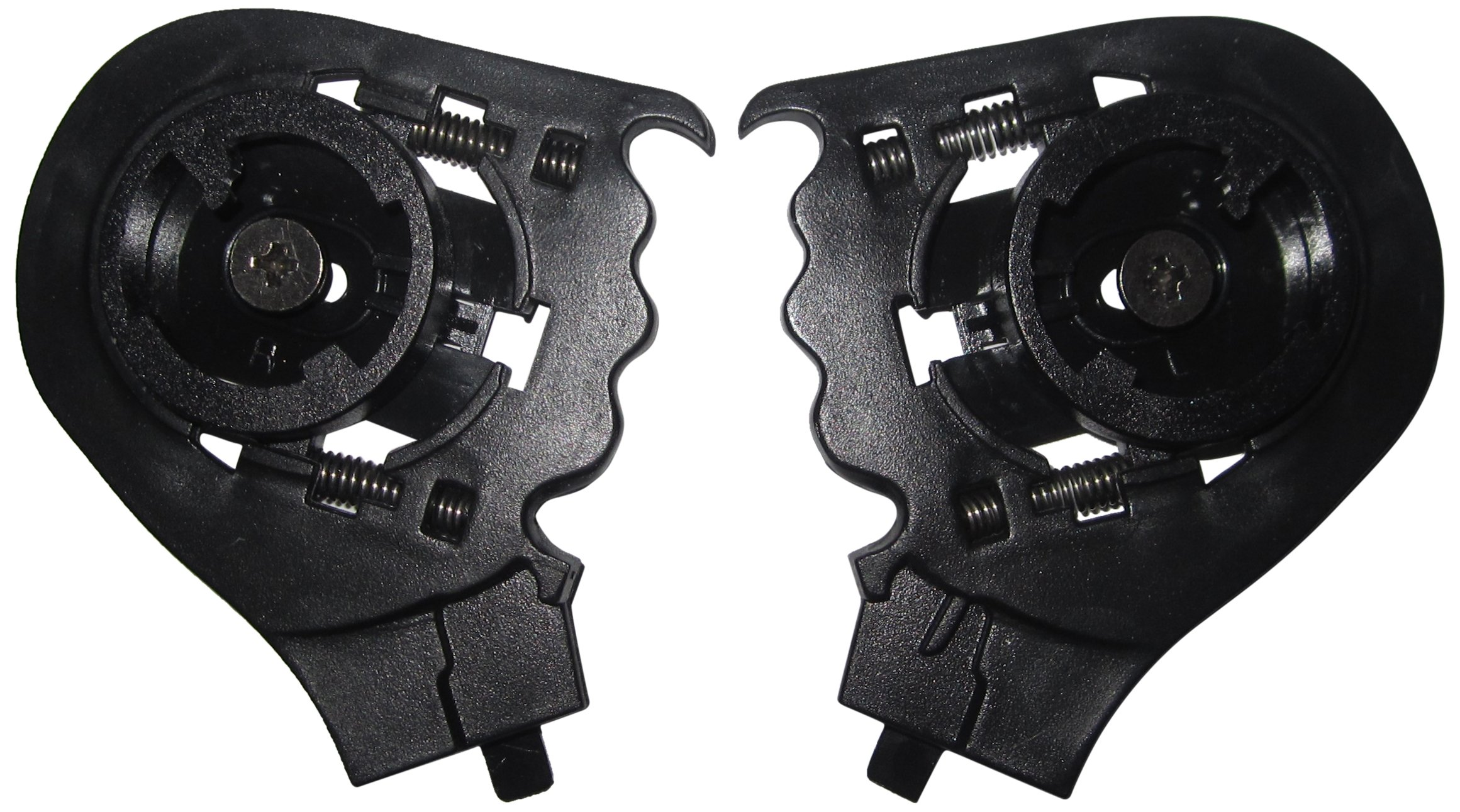 LS2 Helmets 02-164 Visor Replacement Side Plate for OF569 Helmets (Black)