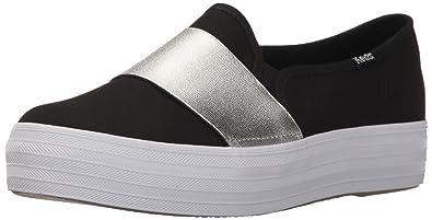 Keds Women's Triple Bandeau Canvas Sneaker Fashion Sneakers V2SJ44ITR