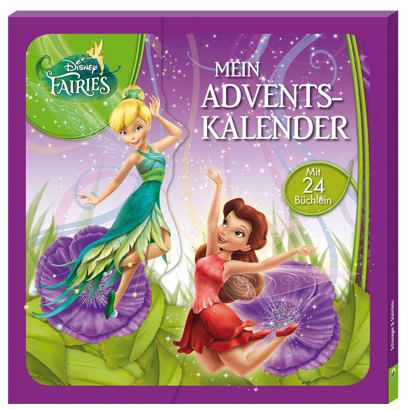 Disney Fairies - Mein Adventskalender: Mit 24 Büchlein Pappbilderbuch – 1. September 2016 Schwager & Steinlein 3849909514 empfohlenes Alter: ab 3 Jahre Weihnachten