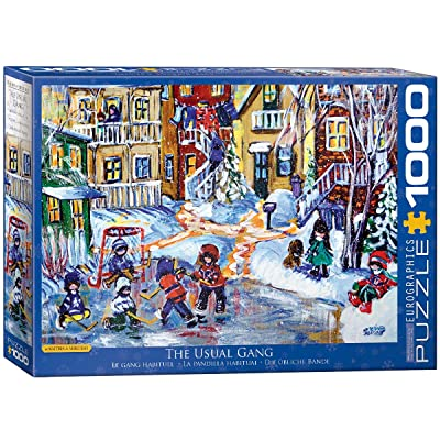 EuroGraphics The Usual Gang Game Puzzle (1000 Piece): Toys & Games