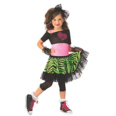 Rubie's Material Girl 1980s Girls Costume: Toys & Games