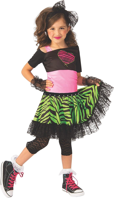 Rubies Material Girl 1980s Girls Costume