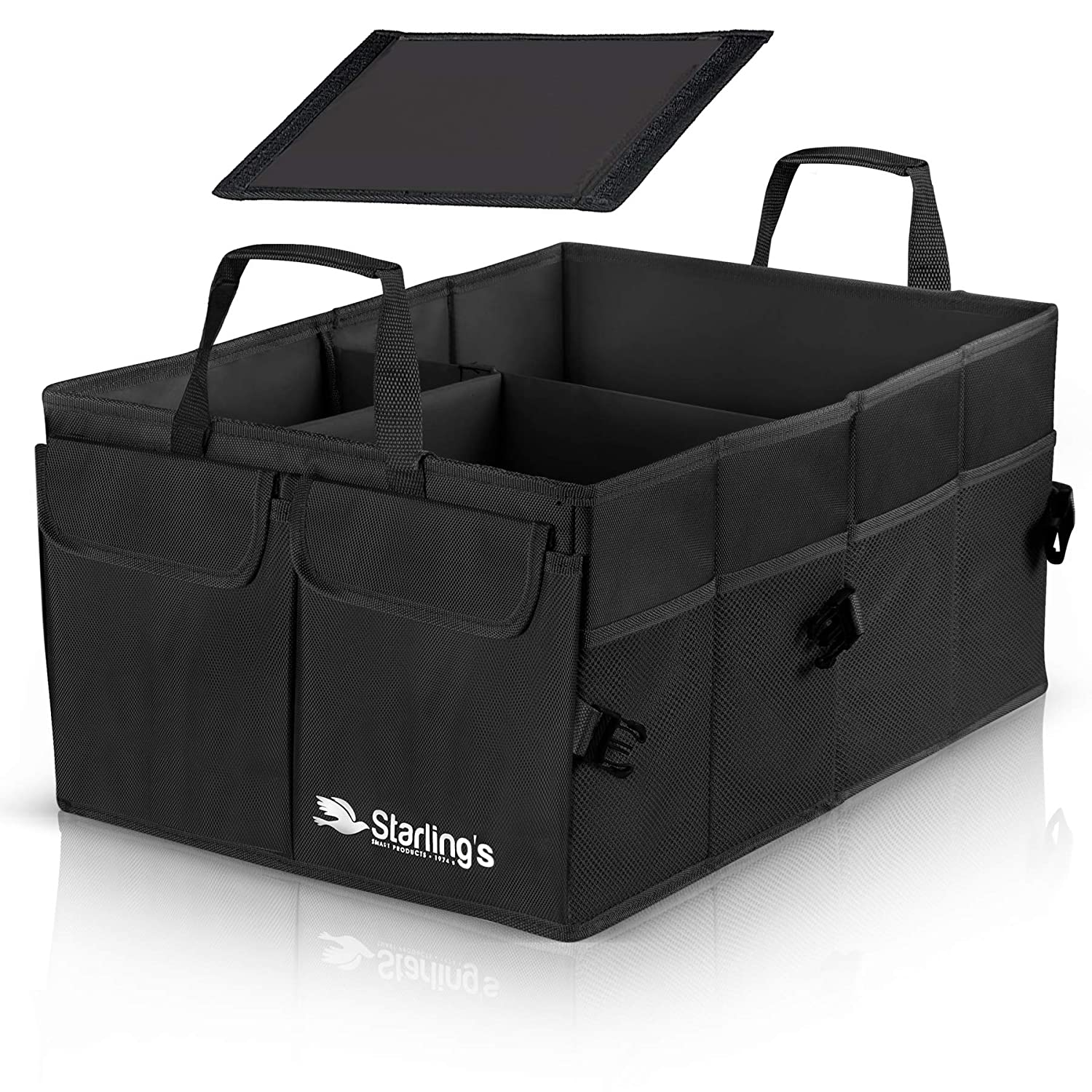 Car Trunk Organizer by Starling's-Black