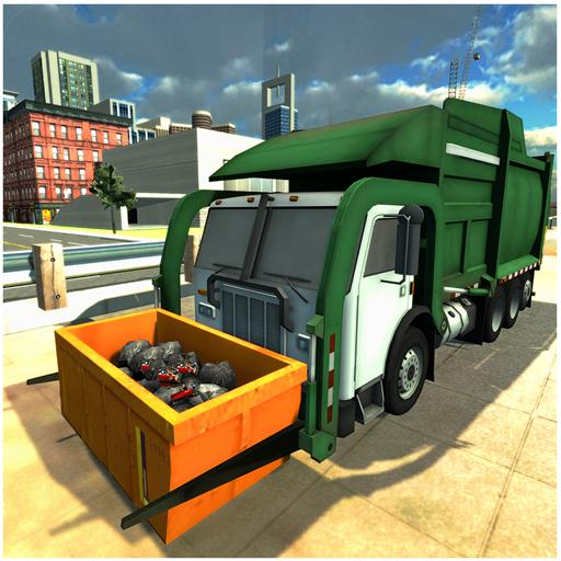 garbage truck simulator - 1