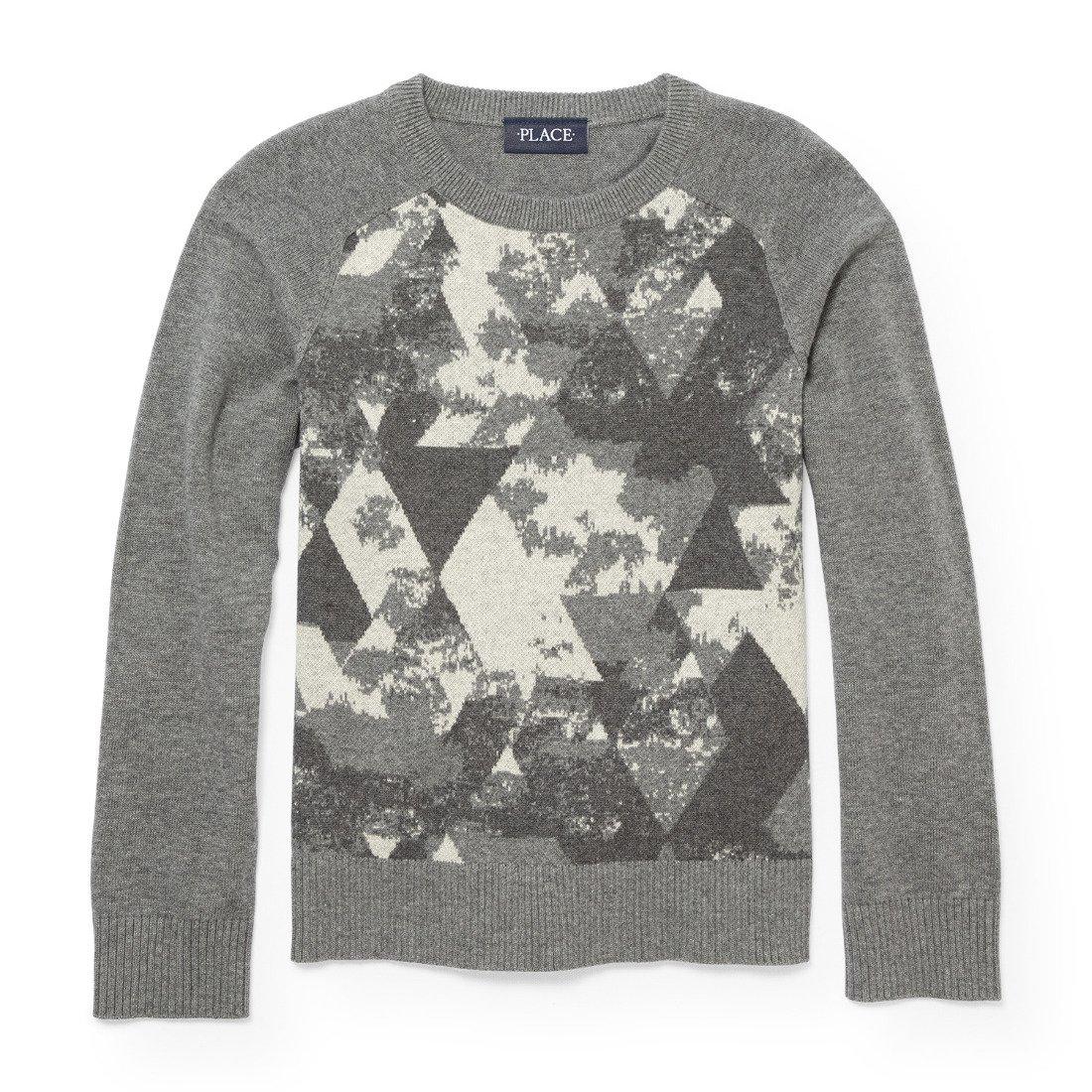 The Children's Place Little Boys' Sweaters, H/T Ash 87564, XS (4)