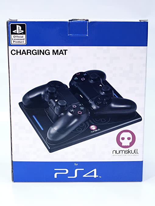 Official Sony PS4 Wireless Charging Mat: Amazon co uk: PC & Video Games