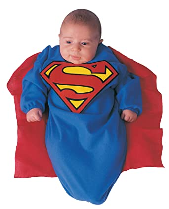 uhc baby boys superman bunting outfit fancy dress infant halloween costume