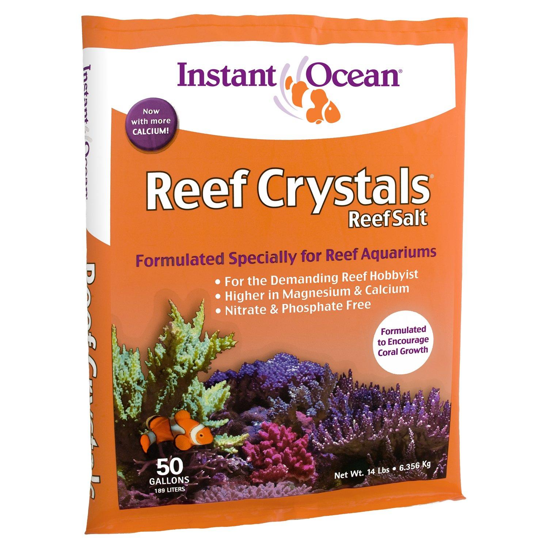 Instant Ocean Reef Crystals Reef Salt, Enriched Formulation for Aquariums, 50-Gallon by Instant Ocean (Image #1)