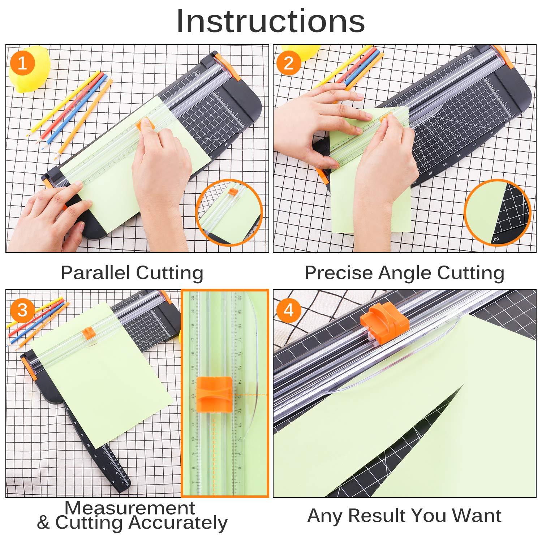 Papierschneider A4 12 Zoll Papierschneidemaschine mit automatischer Sicherheits