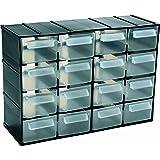 casier de rangement 16 tiroirs boite vis clous 27cm bricolage. Black Bedroom Furniture Sets. Home Design Ideas