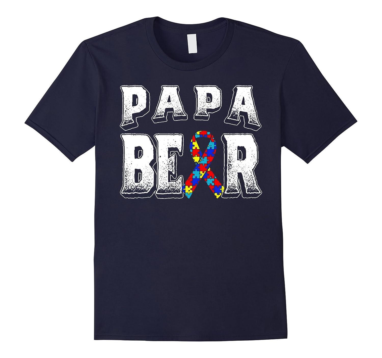 AUTISM PAPA BEER SHIRT-TD