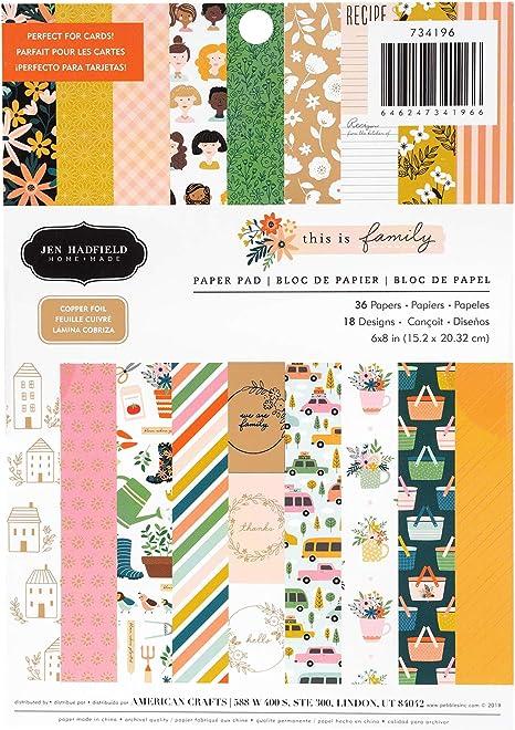 Jen Hadfield 733971 Paper Pad Multi