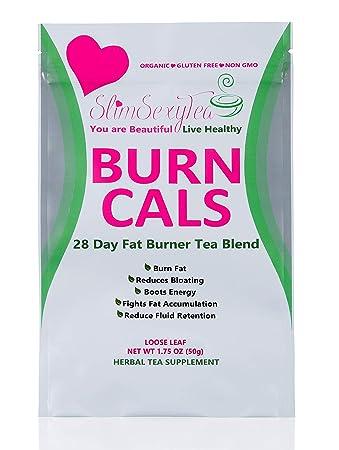 Detox Tea Burn Cals Tea All Natural-Weight Loss Tea Blend- 28 Days Slimming  Tea - Loose Leaf -Reduces