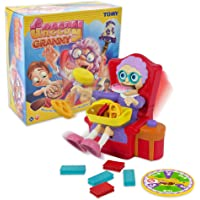 TOMY T72465 Greedy Granny - Children's Surprise Action Game for 2 to 4 Players - Suitable From 5 years