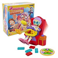 TOMY 13959 Greedy Granny - Children's Surprise Action Game for 2 to 4 Players - Suitable From 5 years