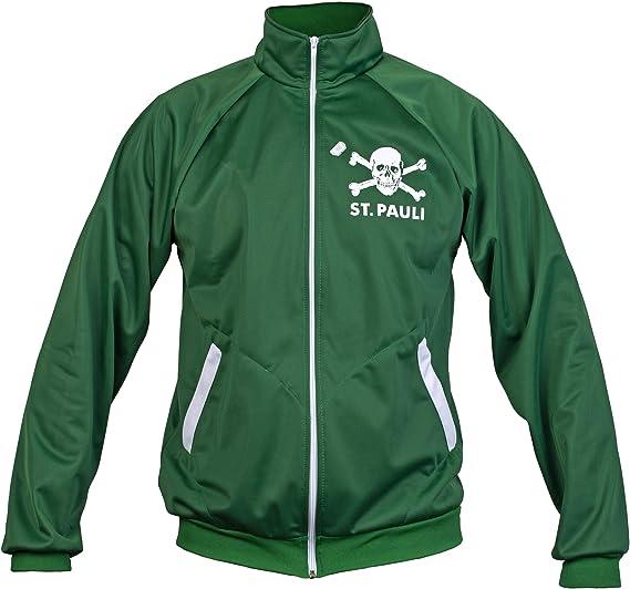 St. Pauli Verde Ultras Cráneo Kult Bandera Punk Activista De La ...