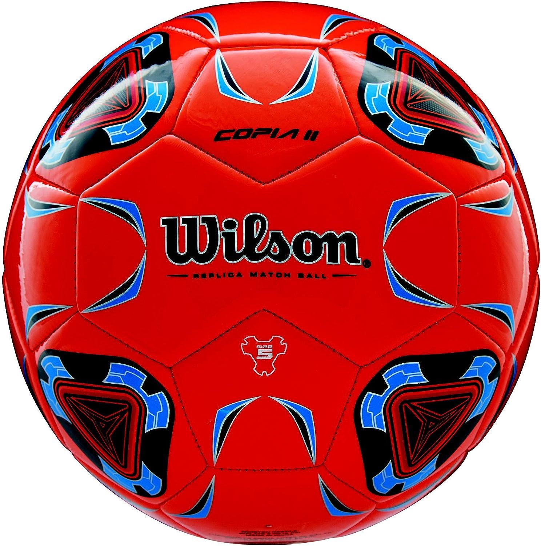 Wilson WTE9282XB05 Pelota de fútbol Coppia II, Juvenil, Naranja ...