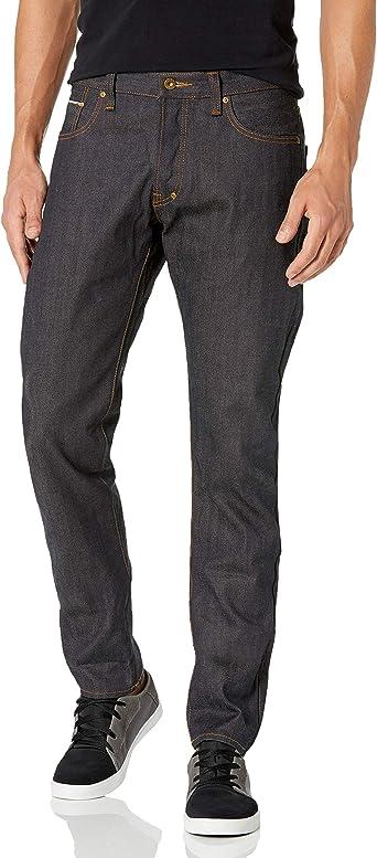 Mens Barracuda Straight-Leg Indigo Selvedge Jean PRPS Goods /& Co