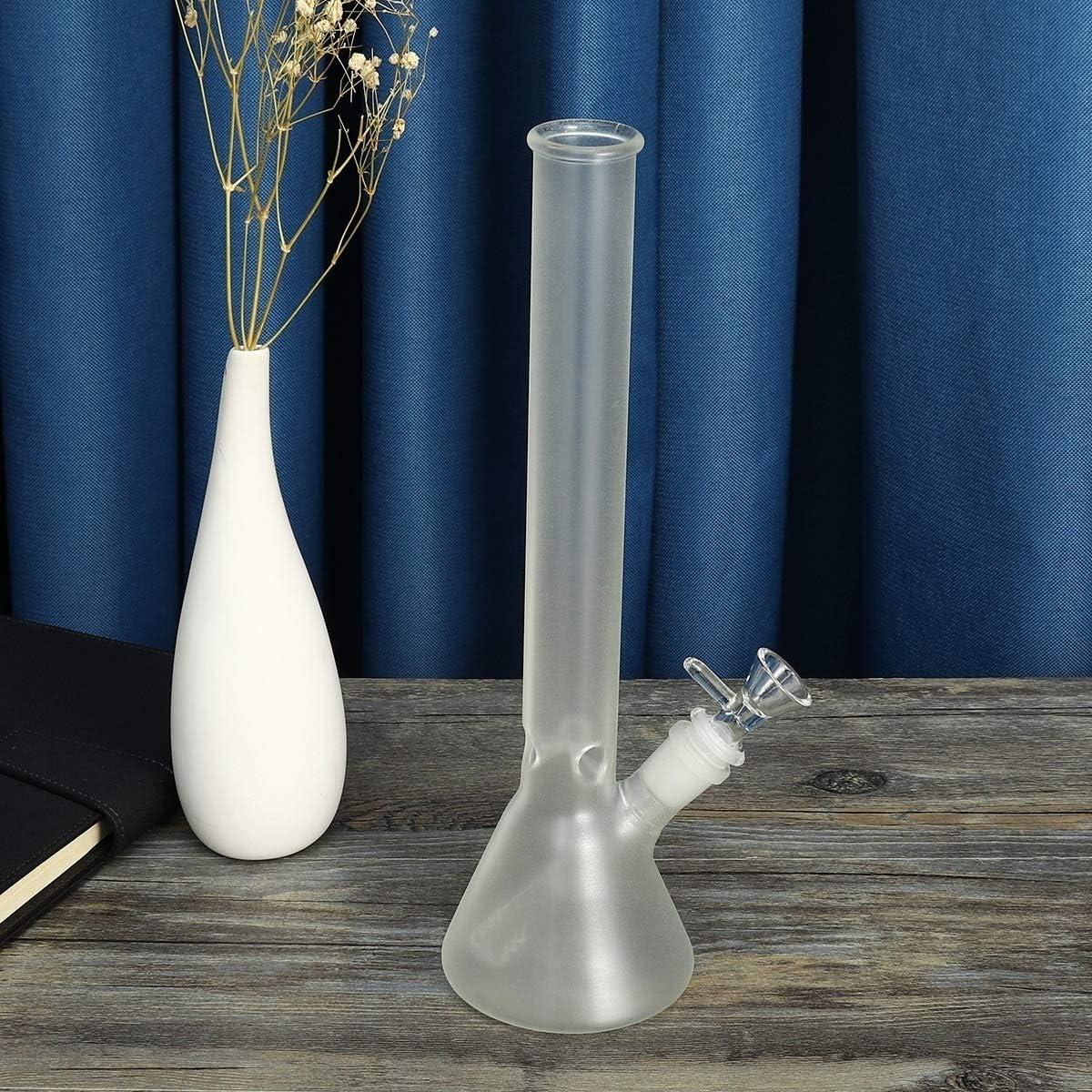 Big Water Bottle-Man Women Boys SgooYi 12.5 inch Home Decorative Bottle Glass Vase Green Handmade Glass Crafts