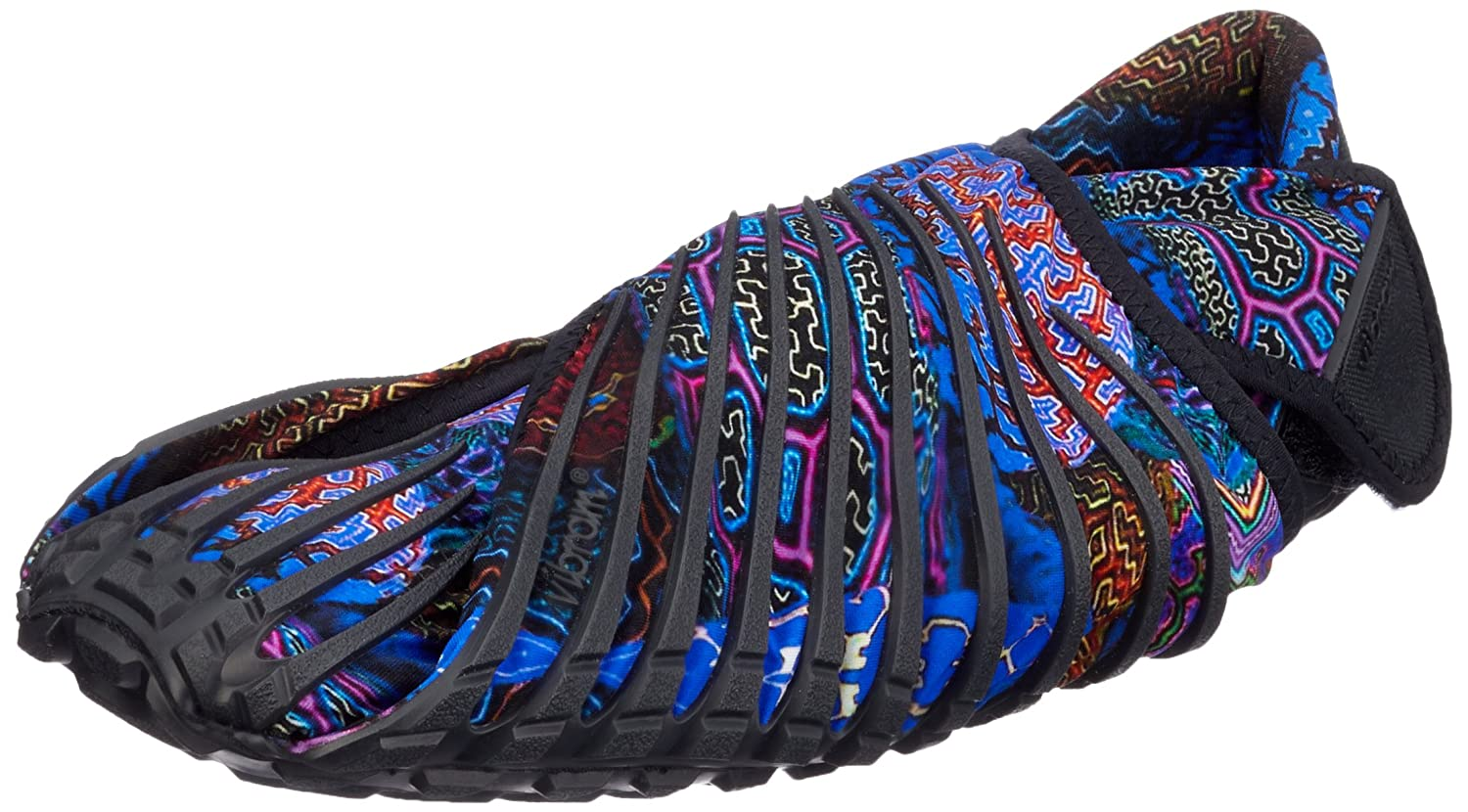 Vibram Men's and Women's Furoshiki Shipibo Sneaker B01HCEOXO0 EU:38-39/UK MAN:4-5.5.UK WOMAN:6-7/CM:23.5-24.5/US MAN:5-6.5/US WOMAN:7-8|Black/Multi