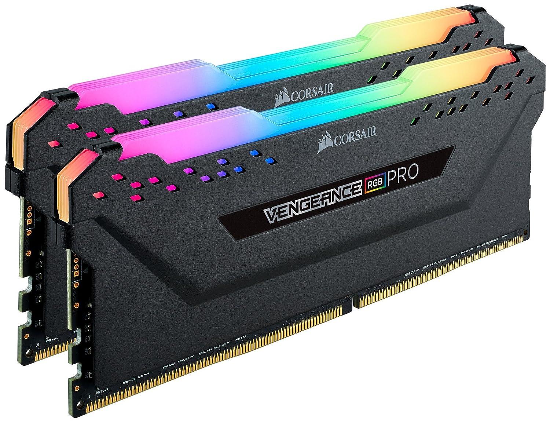 Black 3600MHz C18 2x8GB Corsair Vengeance RGB Pro 16GB