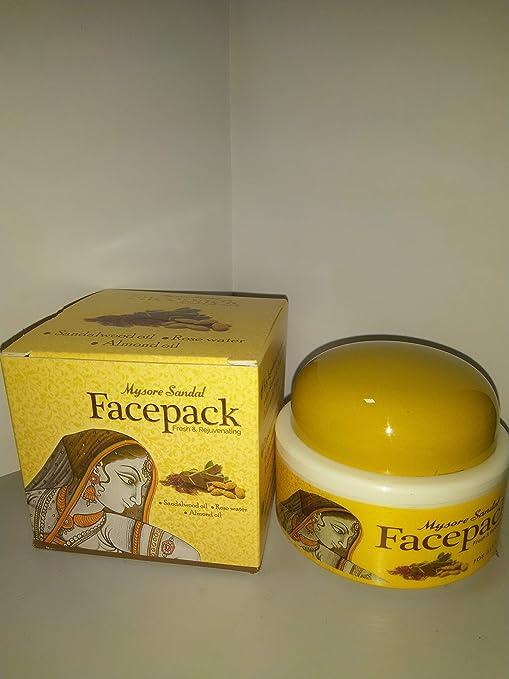 Mysore Sandal facepack,fresh & rejuvenating for all type skin