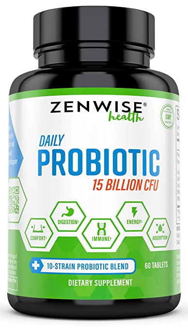 Product thumbnail for Zenwise Extra Strength Probiotic