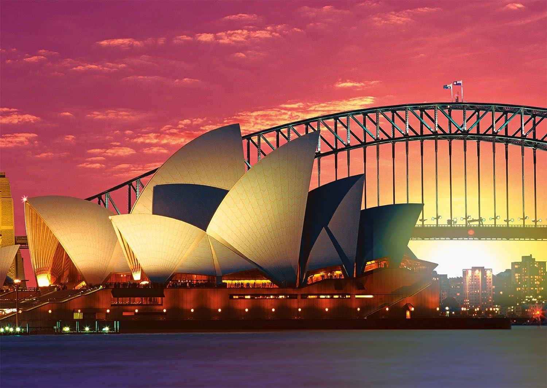 Sydney opera house and harbour bridge - Ravensburger Sydney Opera House And Harbour Bridge Puzzle 1000 Pieces Amazon Co Uk Toys Games