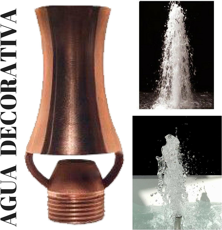 Agua Decorativa Boquillas para Fuentes de Jardín - Cascada DE Hielo 1/2