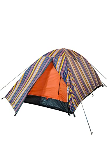 Mountain Warehouse Patterned Festival Dome Double Skin 2 Man Tent with Groundsheet - Waterproof and Ventilated  sc 1 st  Amazon.com & Amazon.com : Mountain Warehouse Patterned Festival Dome Double ...