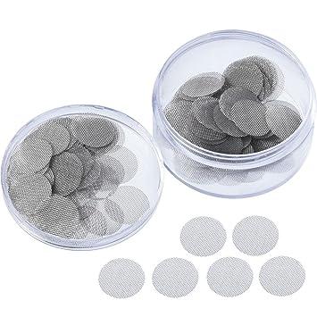 Amazon.com: Mudder - 150 filtros de acero inoxidable para ...