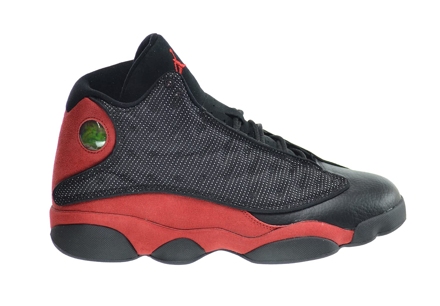 buy popular b6f21 7b8f8 Amazon.com   Jordan Air 13 Retro Men s Basketball Shoes Black Varsity Red-White  414571-010 (8.5 D(M) US)   Basketball